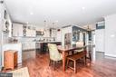 Tons of space to entertain. - 9612 WOODLAND, NEW MARKET
