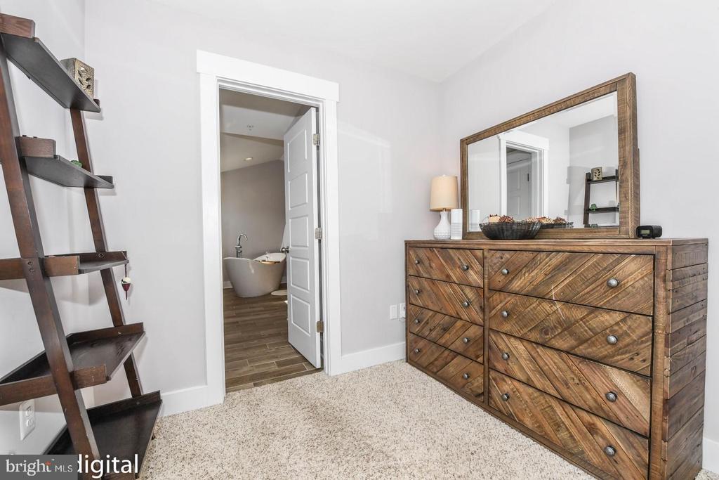 Walk-in closet. - 9612 WOODLAND, NEW MARKET