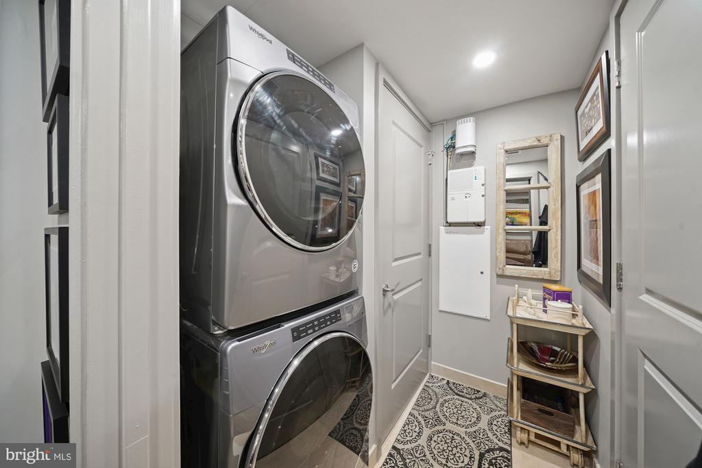 In Unit Front Load Washer and Dryer - 4301 MILITARY RD NW #611, WASHINGTON