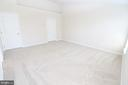 Master Bedroom with Vaulted Ceilings - 25236 WHIPPOORWILL TER, CHANTILLY