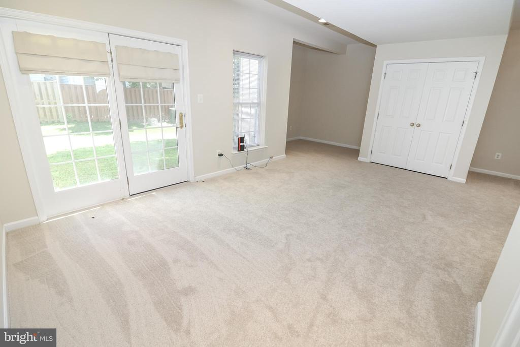 Lower level walk out Rec Room - 25236 WHIPPOORWILL TER, CHANTILLY