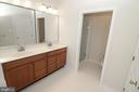 EnSuite Master Bathroom - 25236 WHIPPOORWILL TER, CHANTILLY