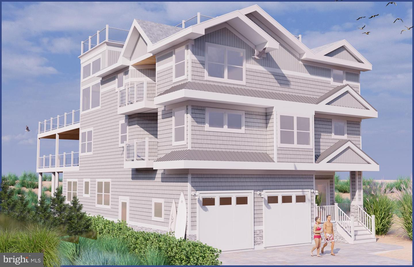 Single Family Homes pour l Vente à Long Beach Township, New Jersey 08008 États-Unis
