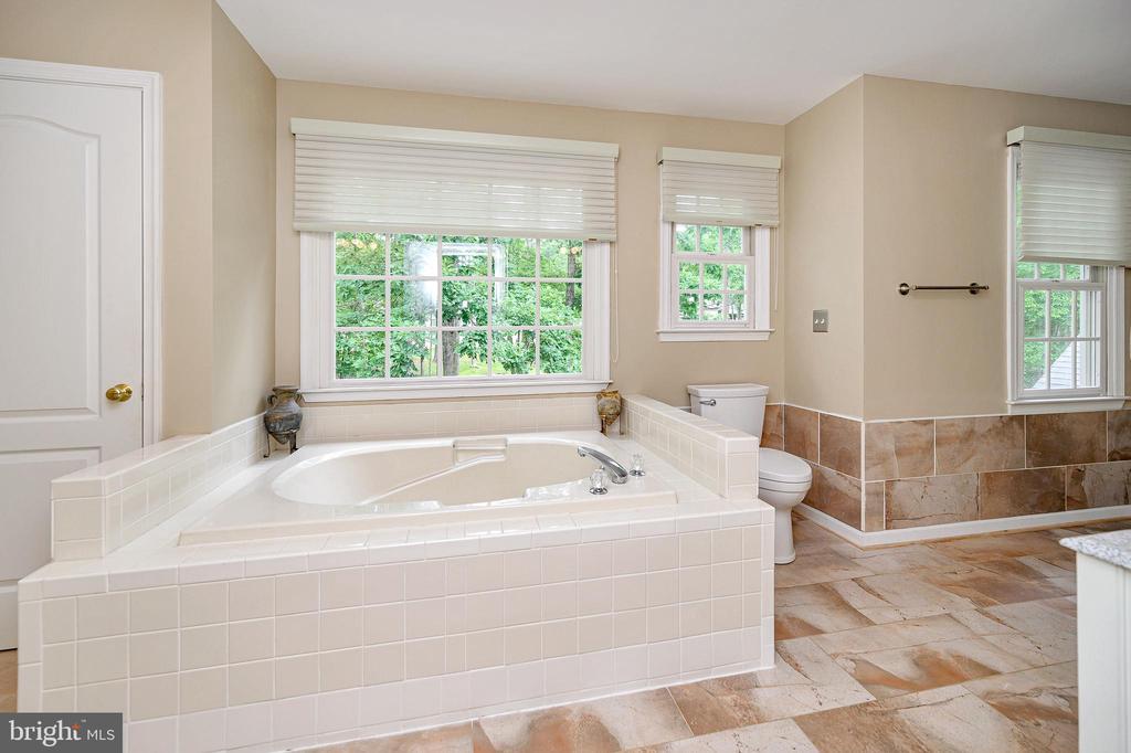 Master luxury bath feels like a spa - 109 ASHLAWN CT, LOCUST GROVE