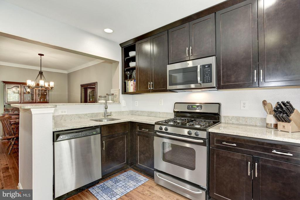 Kitchen - Beautifully Appointed - Gas Cooking! - 12861 FAIR BRIAR LN, FAIRFAX