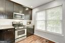 Kitchen - Stainless Steel Apps - Large Window! - 12861 FAIR BRIAR LN, FAIRFAX