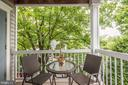 Balcony/Private Deck - So Peaceful! - 12861 FAIR BRIAR LN, FAIRFAX