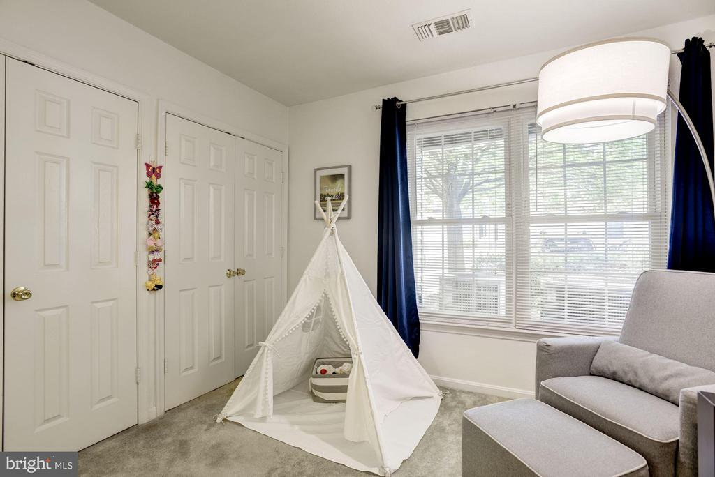 Bedroom #2 Boasts TWO Custom Elfa Closets! DIVINE! - 12861 FAIR BRIAR LN, FAIRFAX