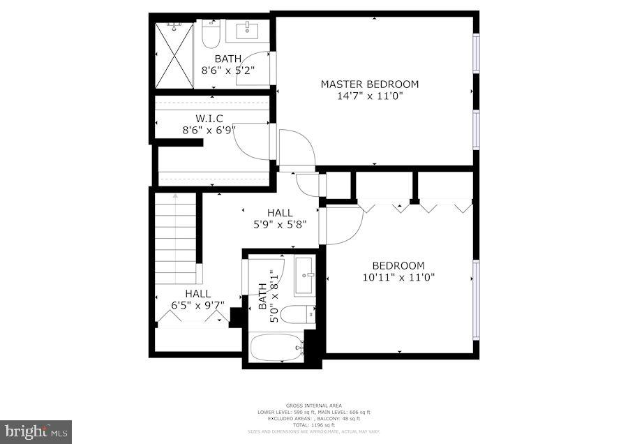 Floor Plan  of Lower Level - 12861 FAIR BRIAR LN, FAIRFAX