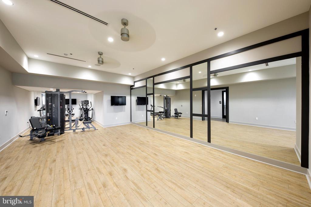 Exercise equipment and studio room - 23631 HAVELOCK WALK TER #303, ASHBURN