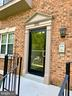 Front Entry Door with Intercom Access - 3802 PORTER ST NW #302, WASHINGTON
