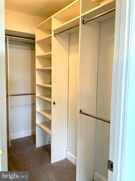 Walk-In Closet Bedroom - 3802 PORTER ST NW #302, WASHINGTON
