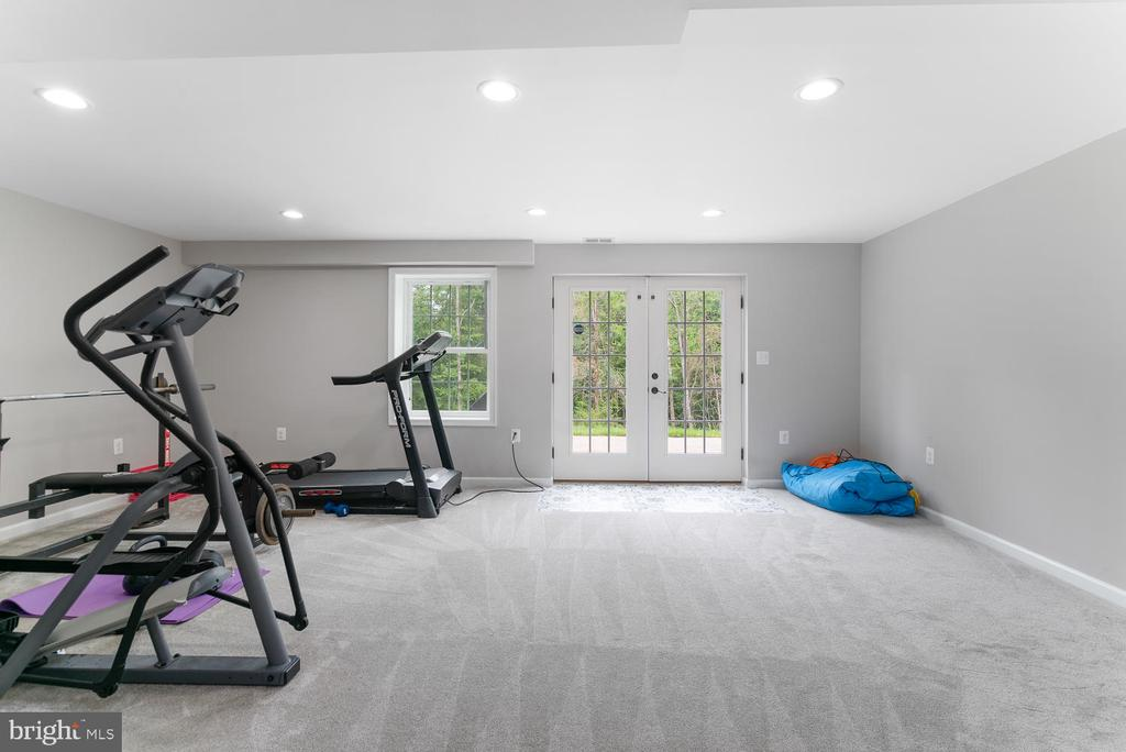 Large fully finished basement - 39177 ALDIE RD, ALDIE