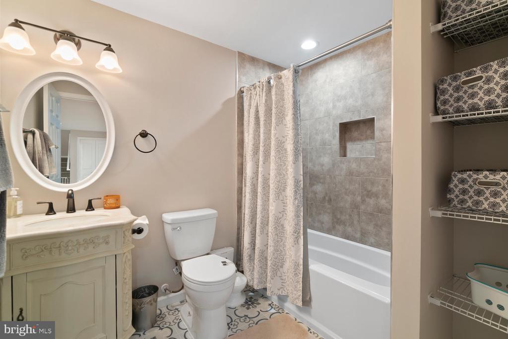 Basement full bath with amazing tile - 39177 ALDIE RD, ALDIE