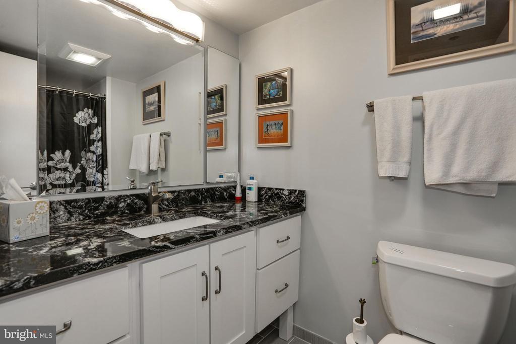 Elegant Guest Bath - 1600 N OAK ST #1419, ARLINGTON