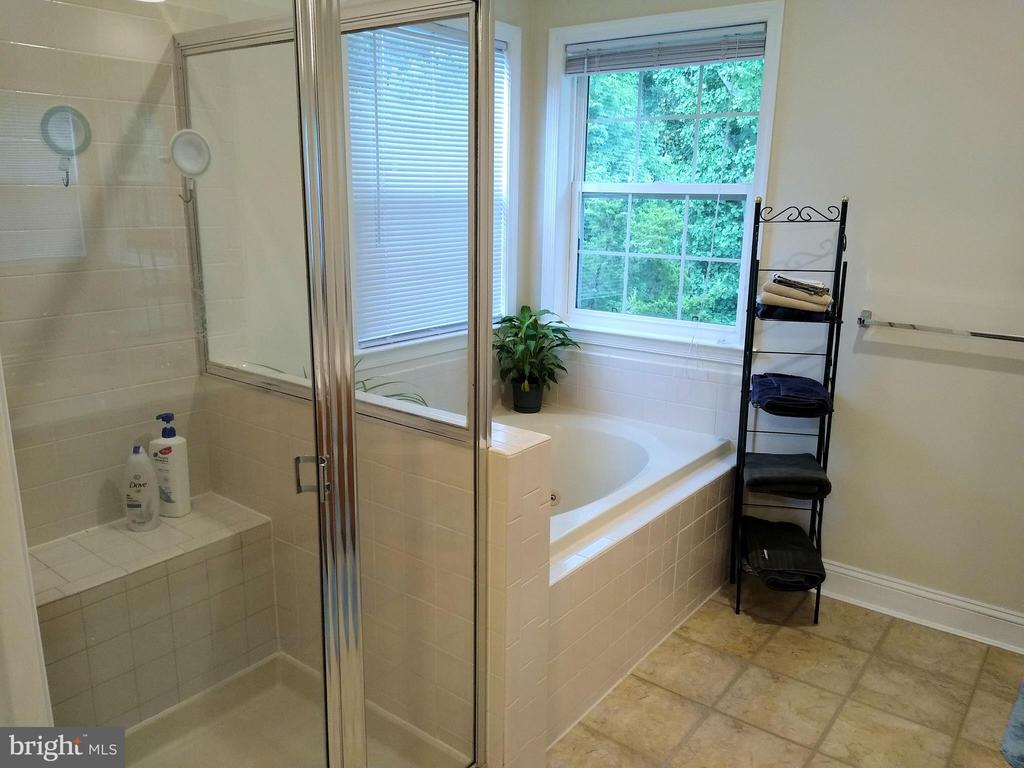 Master Bathroom (view #1). - 8537 WILLOW WISP CT, LAUREL