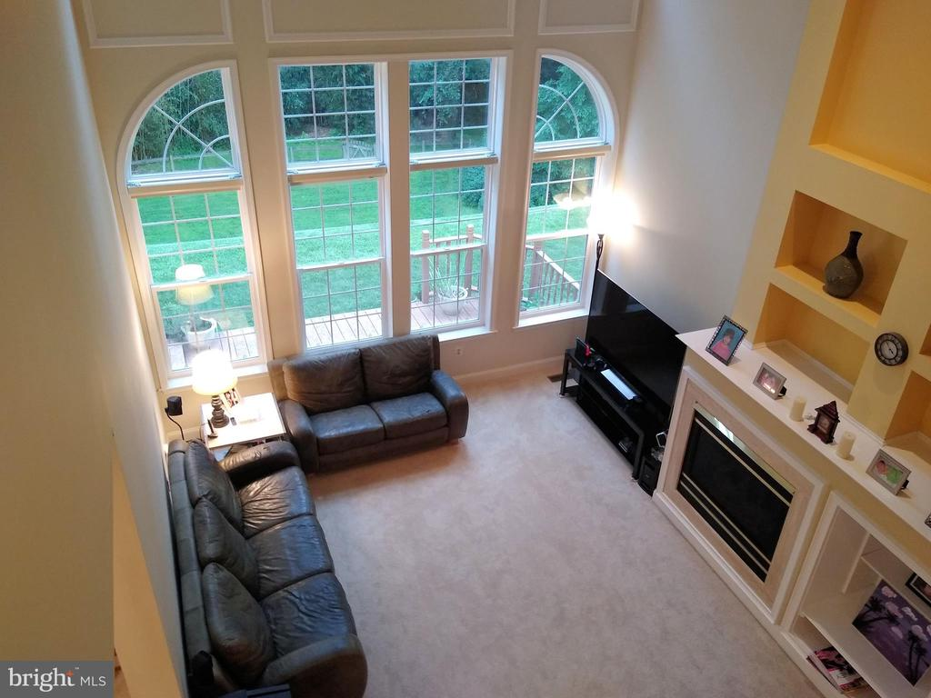Family Room (view #3). - 8537 WILLOW WISP CT, LAUREL