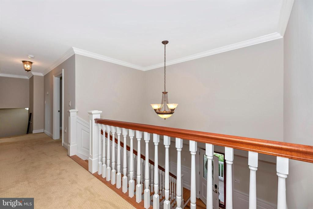 Upper Level Hall Way - 3842 MOUNT AIRY DR, MOUNT AIRY