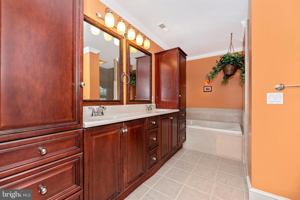 Ceramic Master Bath - 3842 MOUNT AIRY DR, MOUNT AIRY