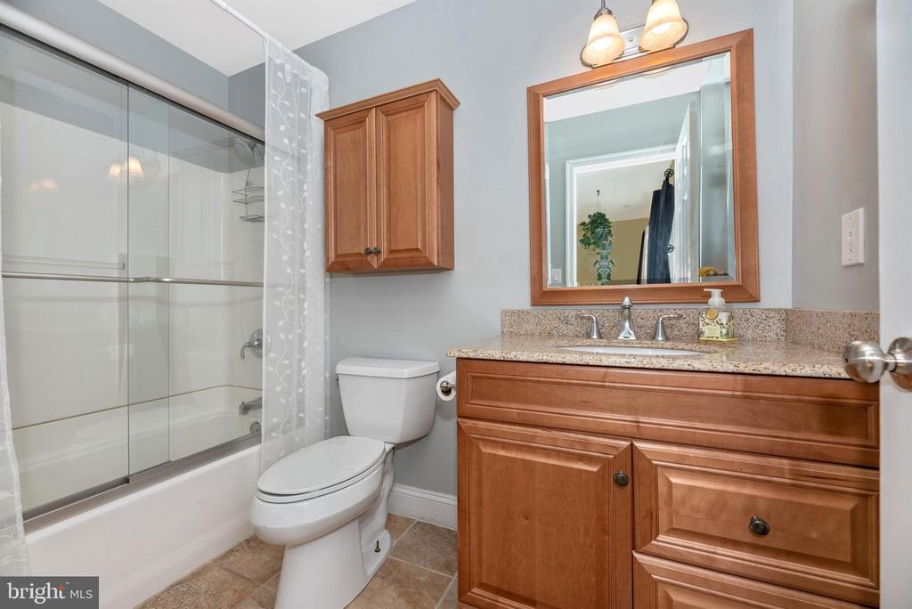 Private Bath off Bedroom 2 - 3842 MOUNT AIRY DR, MOUNT AIRY