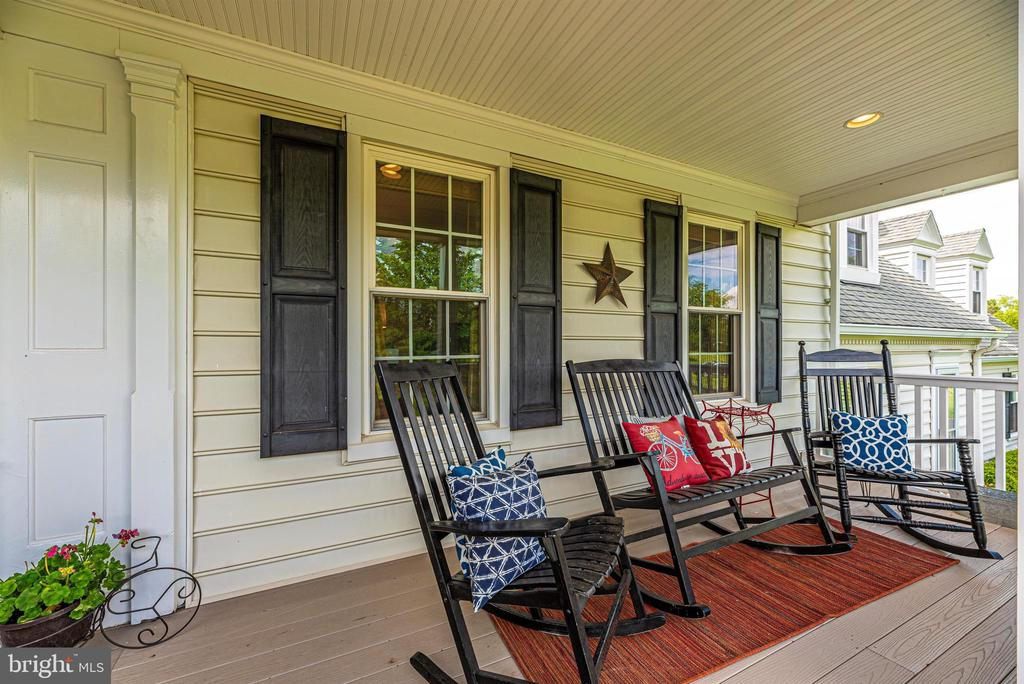 Porch is Warm and Inviting - 3842 MOUNT AIRY DR, MOUNT AIRY