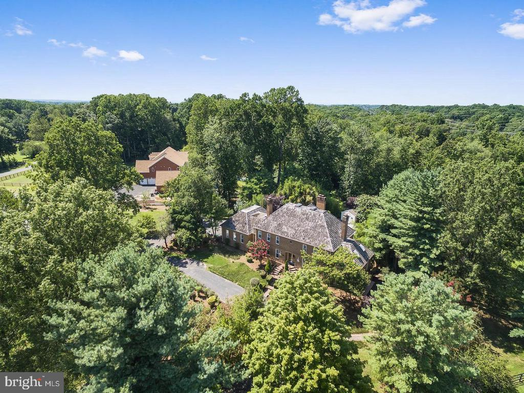 Aerial view - 11400 QUAILWOOD MANOR DR, FAIRFAX STATION