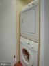 Laundry inside the unit! - 2603 S WALTER REED DR #A, ARLINGTON