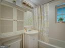 New Light Fixture in the bathroom - 2603 S WALTER REED DR #A, ARLINGTON