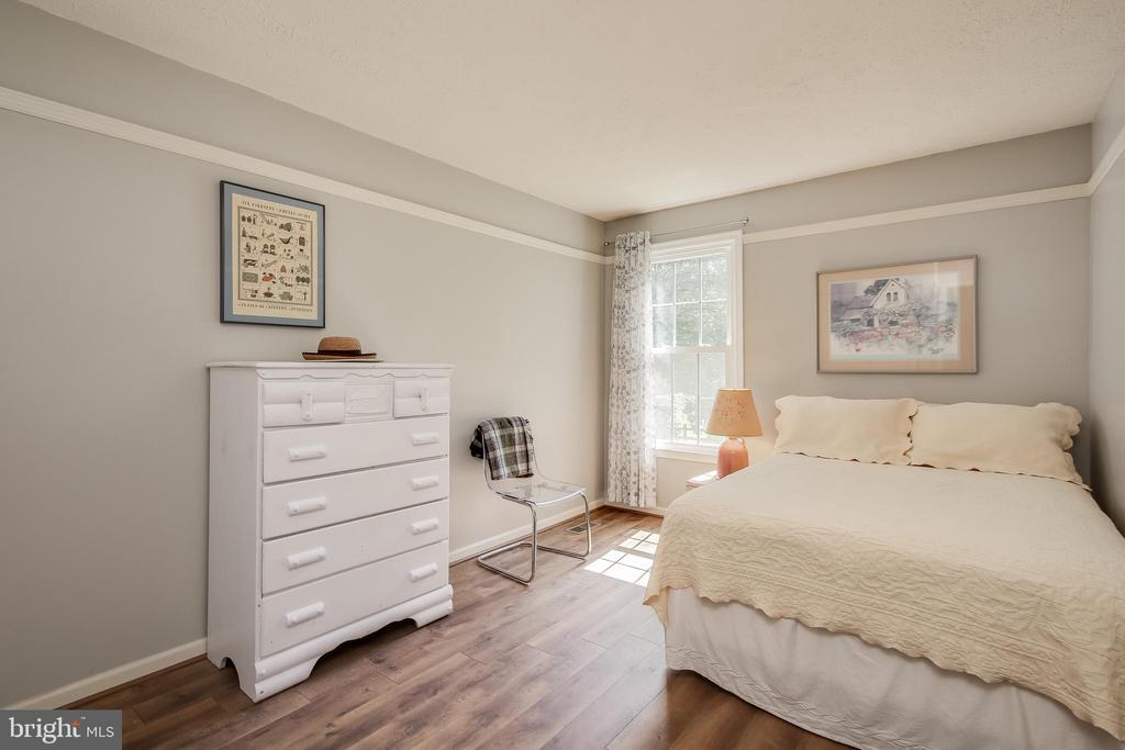 Bedroom #2 -  more gorgeous floors - 8705-B N PACIFIC CT, MIDDLETOWN