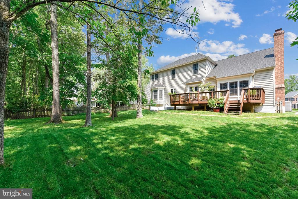 Huge flat yard for the kids - 43351 RITTER LN, CHANTILLY