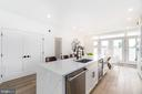 Great storage and waterfall quartz counters - 432 MANOR PL NW #2, WASHINGTON