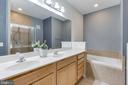 Master Bathroom with soaking Tub - 7166 LITTLE THAMES DR #181, GAINESVILLE