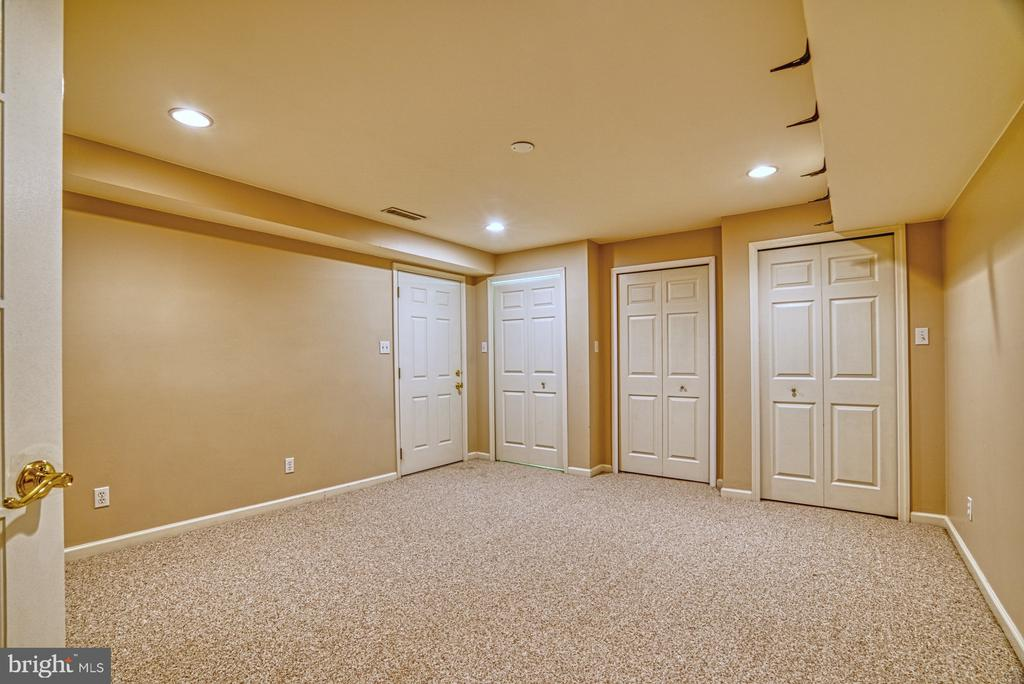 Bonus room in the basement. Lots of storage! - 6676 STONEBROOK DR, CLIFTON