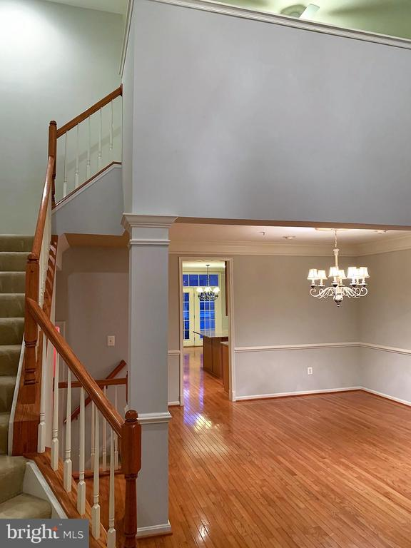 View from foyer into home - 506 LAWSON WAY, ROCKVILLE