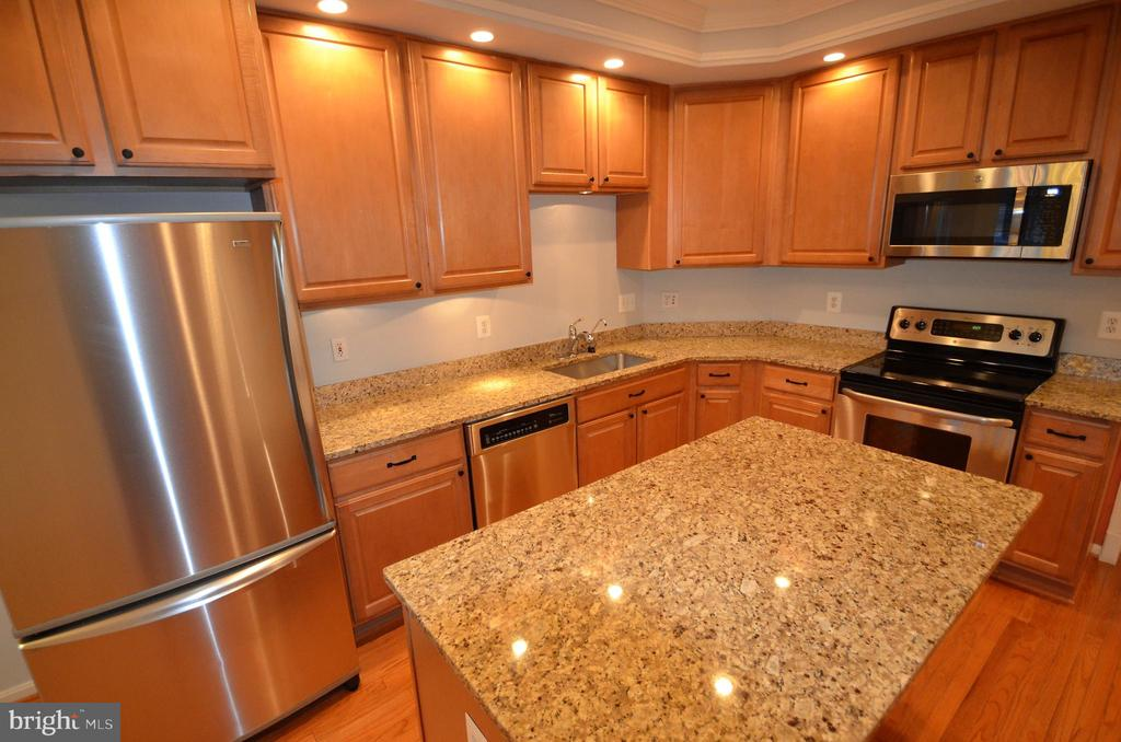 Beautiful kitchen w/ stainless  steel appliances - 506 LAWSON WAY, ROCKVILLE
