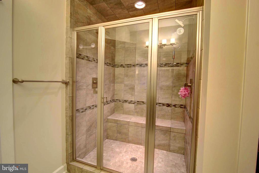 Master Shower with Dual shower heads - 43388 WHITEHEAD TER, ASHBURN