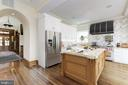 KITCHEN RENDERING. Plumbing and electrical ready - 4907 14TH ST NW, WASHINGTON