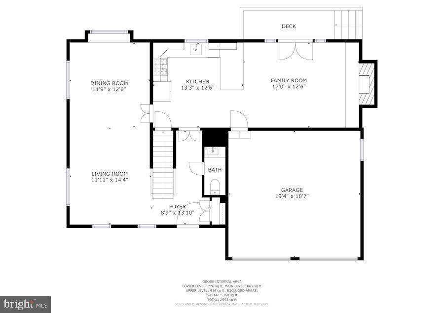Floor Plans - 6249 23RD ST N, ARLINGTON