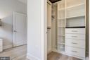 Custom master bedroom closet - 1745 N ST NW #211, WASHINGTON