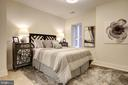 Second bedroom in this end residence. - 1745 N ST NW #211, WASHINGTON