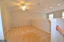 Loft area overlooking living room - 506 LAWSON WAY, ROCKVILLE