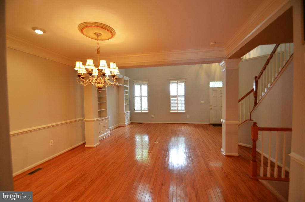 View from kitchen into dining room - 506 LAWSON WAY, ROCKVILLE