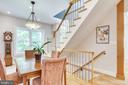 Open-concept dining and kitchen area - 1504 IRVING ST NE, WASHINGTON