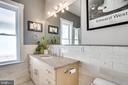 Upstairs master bath - high-end finishes - 1504 IRVING ST NE, WASHINGTON