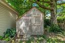 Back shed - 1504 IRVING ST NE, WASHINGTON