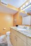 English basement bathroom - 1504 IRVING ST NE, WASHINGTON