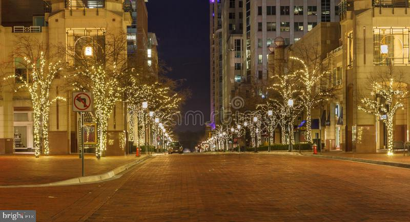 Lovely Christimas Time in Reston Town Center - 12110 WALNUT BRANCH RD, RESTON
