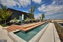 Rooftop with water feature - 925 H ST NW #301, WASHINGTON