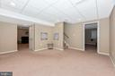 Fully finished basement-awaiting your creativity! - 6799 ACCIPITER DR, NEW MARKET