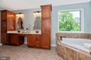 Gorgeous soaking tub - 6799 ACCIPITER DR, NEW MARKET